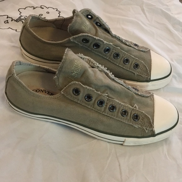 a2c181cb46c2fb Converse Other - Converse John Varvatos All Star Laceless Slip Ons
